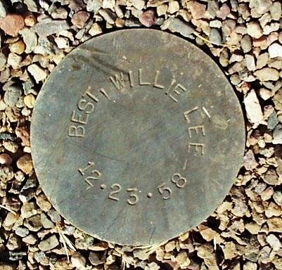 BEST, WILLIE LEE - Maricopa County, Arizona | WILLIE LEE BEST - Arizona Gravestone Photos