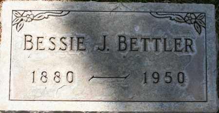 BETTLER, BESSIE J. - Maricopa County, Arizona | BESSIE J. BETTLER - Arizona Gravestone Photos