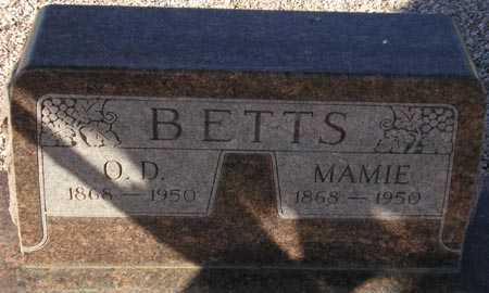 BETTS, MAMIE - Maricopa County, Arizona   MAMIE BETTS - Arizona Gravestone Photos