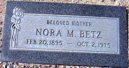 BETZ, NORA M. - Maricopa County, Arizona | NORA M. BETZ - Arizona Gravestone Photos