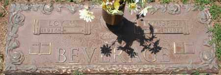 BEVERAGE, LOUISE J. - Maricopa County, Arizona | LOUISE J. BEVERAGE - Arizona Gravestone Photos