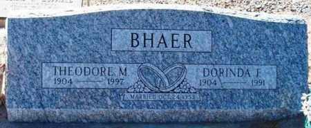 BHAER, THEODORE M. - Maricopa County, Arizona   THEODORE M. BHAER - Arizona Gravestone Photos