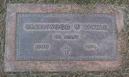 BICKLE, GREENWOOD W. - Maricopa County, Arizona   GREENWOOD W. BICKLE - Arizona Gravestone Photos