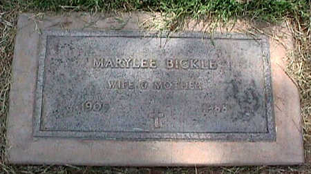 BICKLE, MARYLEE - Maricopa County, Arizona   MARYLEE BICKLE - Arizona Gravestone Photos
