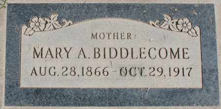 BIDDLECOME, MARY A - Maricopa County, Arizona | MARY A BIDDLECOME - Arizona Gravestone Photos