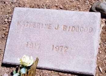 BIDGOOD, KATHERINE J. - Maricopa County, Arizona | KATHERINE J. BIDGOOD - Arizona Gravestone Photos