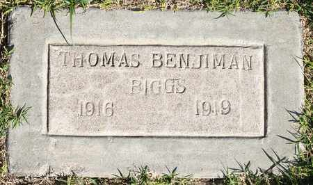 BIGGS, THOMAS BENJIMAN OR BENJAMIN - Maricopa County, Arizona | THOMAS BENJIMAN OR BENJAMIN BIGGS - Arizona Gravestone Photos