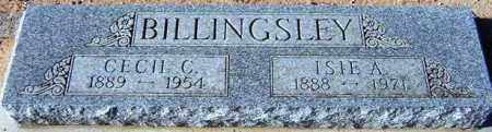 BILLINGSLEY, ISLE A. - Maricopa County, Arizona | ISLE A. BILLINGSLEY - Arizona Gravestone Photos