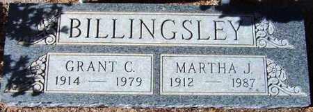 BILLINGSLEY, MARTHA J. - Maricopa County, Arizona   MARTHA J. BILLINGSLEY - Arizona Gravestone Photos