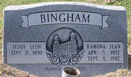 BINGHAM, TEDDY LEON - Maricopa County, Arizona | TEDDY LEON BINGHAM - Arizona Gravestone Photos