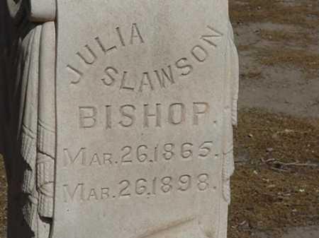 SLAWSON BISHOP, JULIA - Maricopa County, Arizona | JULIA SLAWSON BISHOP - Arizona Gravestone Photos