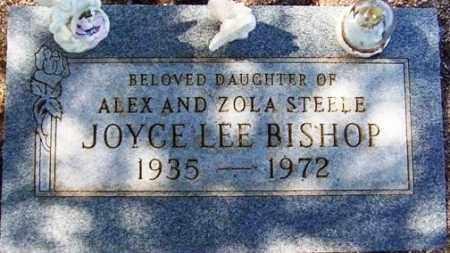 STEELE BISHOP, JOYCE LEE - Maricopa County, Arizona | JOYCE LEE STEELE BISHOP - Arizona Gravestone Photos