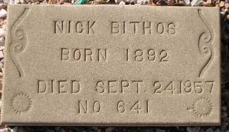 BITHOS, NICK - Maricopa County, Arizona | NICK BITHOS - Arizona Gravestone Photos