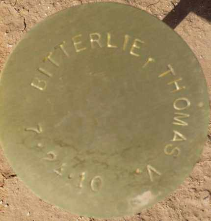 BITTERLIE, THOMAS V. - Maricopa County, Arizona | THOMAS V. BITTERLIE - Arizona Gravestone Photos