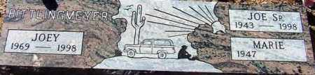 BITTLINGMEYER, JOSEPH F, SR - Maricopa County, Arizona   JOSEPH F, SR BITTLINGMEYER - Arizona Gravestone Photos