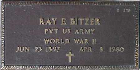BITZER, RAY E. - Maricopa County, Arizona | RAY E. BITZER - Arizona Gravestone Photos