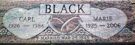 BLACK, CARL - Maricopa County, Arizona | CARL BLACK - Arizona Gravestone Photos