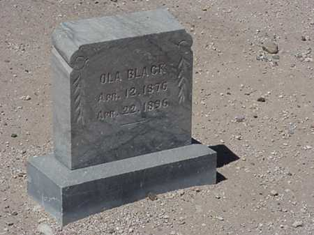 BLACK, FABIOLA/ OLA - Maricopa County, Arizona | FABIOLA/ OLA BLACK - Arizona Gravestone Photos