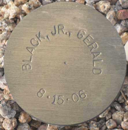 BLACK, GERALD, JR - Maricopa County, Arizona | GERALD, JR BLACK - Arizona Gravestone Photos