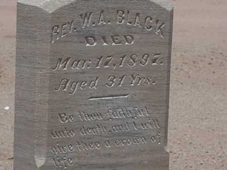 BLACK, REV. W A - Maricopa County, Arizona | REV. W A BLACK - Arizona Gravestone Photos