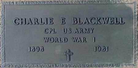 BLACKWELL, CHARLIE E. - Maricopa County, Arizona | CHARLIE E. BLACKWELL - Arizona Gravestone Photos