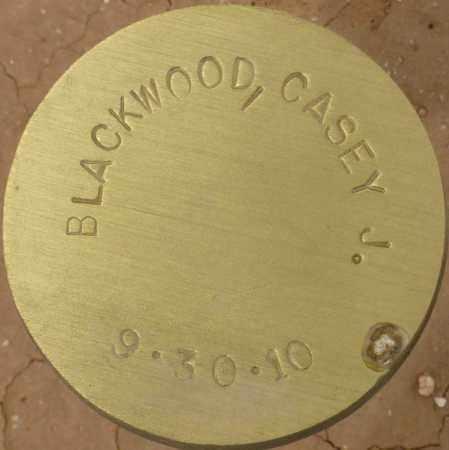BLACKWOOD, CASEY J. - Maricopa County, Arizona | CASEY J. BLACKWOOD - Arizona Gravestone Photos