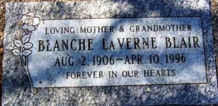 SIMONS BLAIR, BLANCHE LAVERNE - Maricopa County, Arizona | BLANCHE LAVERNE SIMONS BLAIR - Arizona Gravestone Photos