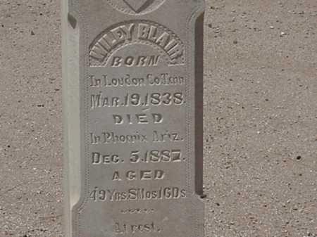 BLAIR, WILEY - Maricopa County, Arizona   WILEY BLAIR - Arizona Gravestone Photos