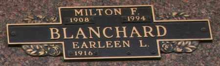 BLANCHARD, EARLEEN L - Maricopa County, Arizona | EARLEEN L BLANCHARD - Arizona Gravestone Photos
