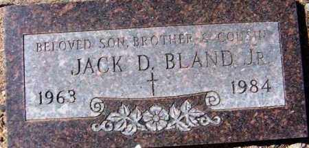 BLAND, JACK D, JR - Maricopa County, Arizona   JACK D, JR BLAND - Arizona Gravestone Photos