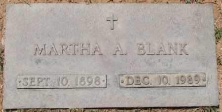 BLANK, MARTHA A. - Maricopa County, Arizona | MARTHA A. BLANK - Arizona Gravestone Photos
