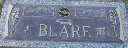 BLARE, GEORGE W - Maricopa County, Arizona | GEORGE W BLARE - Arizona Gravestone Photos