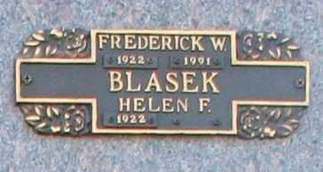 BLASEK, HELEN F - Maricopa County, Arizona | HELEN F BLASEK - Arizona Gravestone Photos