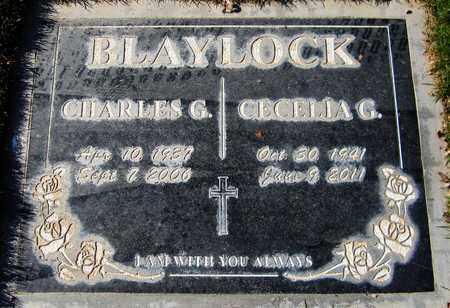 BLAYLOCK, CHARLES G. - Maricopa County, Arizona   CHARLES G. BLAYLOCK - Arizona Gravestone Photos