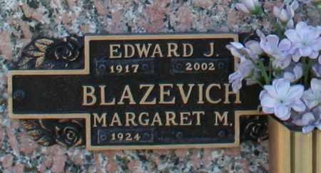 BLAZEVICH, EDWARD J - Maricopa County, Arizona | EDWARD J BLAZEVICH - Arizona Gravestone Photos