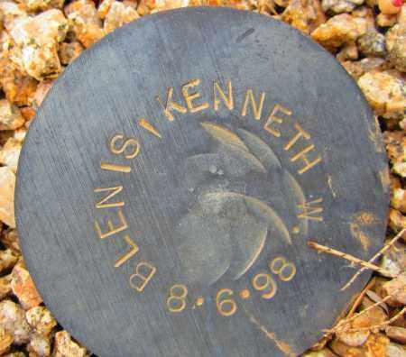 BLENIS, KENNETH W. - Maricopa County, Arizona   KENNETH W. BLENIS - Arizona Gravestone Photos