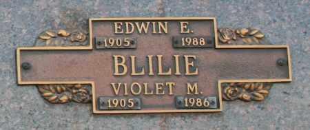 BLILIE, EDWIN E - Maricopa County, Arizona | EDWIN E BLILIE - Arizona Gravestone Photos