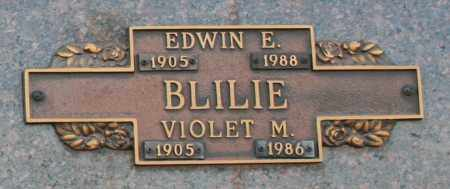 BLILIE, VIOLET M - Maricopa County, Arizona | VIOLET M BLILIE - Arizona Gravestone Photos