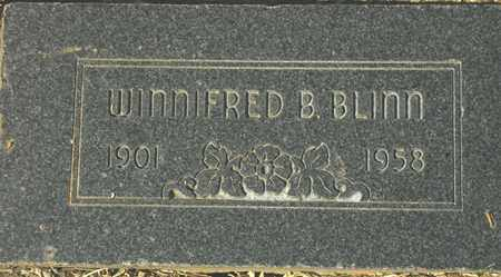 BLINN, WINNIFRED B. - Maricopa County, Arizona | WINNIFRED B. BLINN - Arizona Gravestone Photos