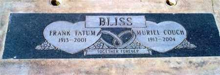 BLISS, FRANK TATUM - Maricopa County, Arizona | FRANK TATUM BLISS - Arizona Gravestone Photos