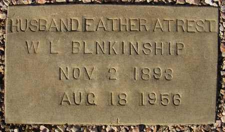 BLNKINSHIP, W.L. - Maricopa County, Arizona   W.L. BLNKINSHIP - Arizona Gravestone Photos