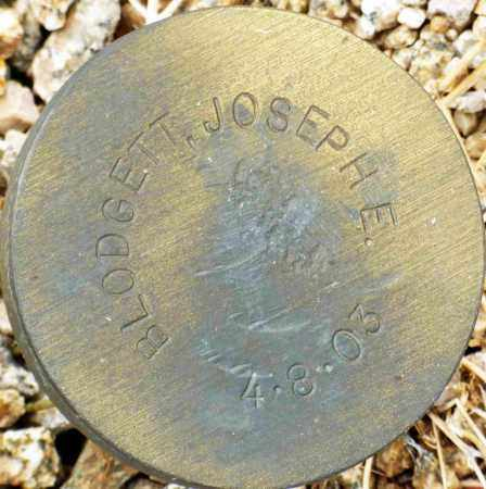 BLODGETT, JOSEPH E. - Maricopa County, Arizona | JOSEPH E. BLODGETT - Arizona Gravestone Photos