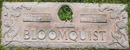BLOOMQUIST, THEODORE A - Maricopa County, Arizona | THEODORE A BLOOMQUIST - Arizona Gravestone Photos