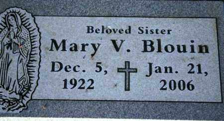 BLOUIN, MARY V. - Maricopa County, Arizona | MARY V. BLOUIN - Arizona Gravestone Photos