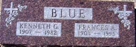 BLUE, FRANCES A. - Maricopa County, Arizona | FRANCES A. BLUE - Arizona Gravestone Photos