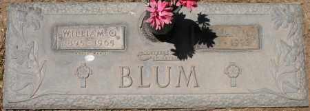 BLUM, WILLIAM O. - Maricopa County, Arizona   WILLIAM O. BLUM - Arizona Gravestone Photos
