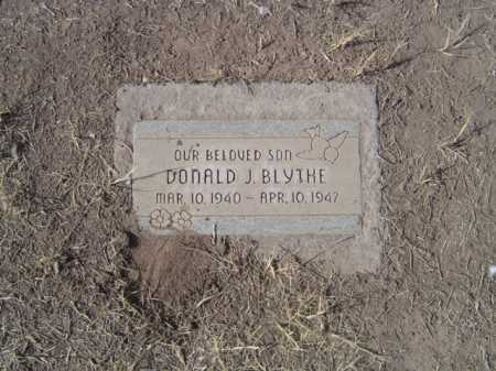 BLYTHE, DONALD - Maricopa County, Arizona | DONALD BLYTHE - Arizona Gravestone Photos