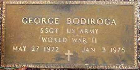 BODIROGA, GEORGE - Maricopa County, Arizona | GEORGE BODIROGA - Arizona Gravestone Photos