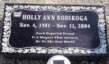 BODIROGA, HOLLY ANN - Maricopa County, Arizona | HOLLY ANN BODIROGA - Arizona Gravestone Photos