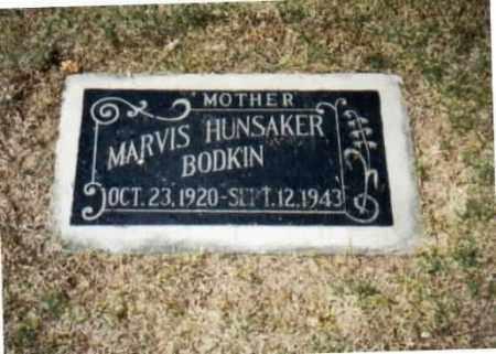 HUNSAKER BODKIN, MARVIS MELBA - Maricopa County, Arizona | MARVIS MELBA HUNSAKER BODKIN - Arizona Gravestone Photos
